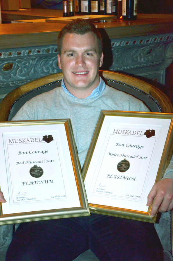 Muskadel SA Awards Double Platinum Winner Philip Viljoen winemaker
